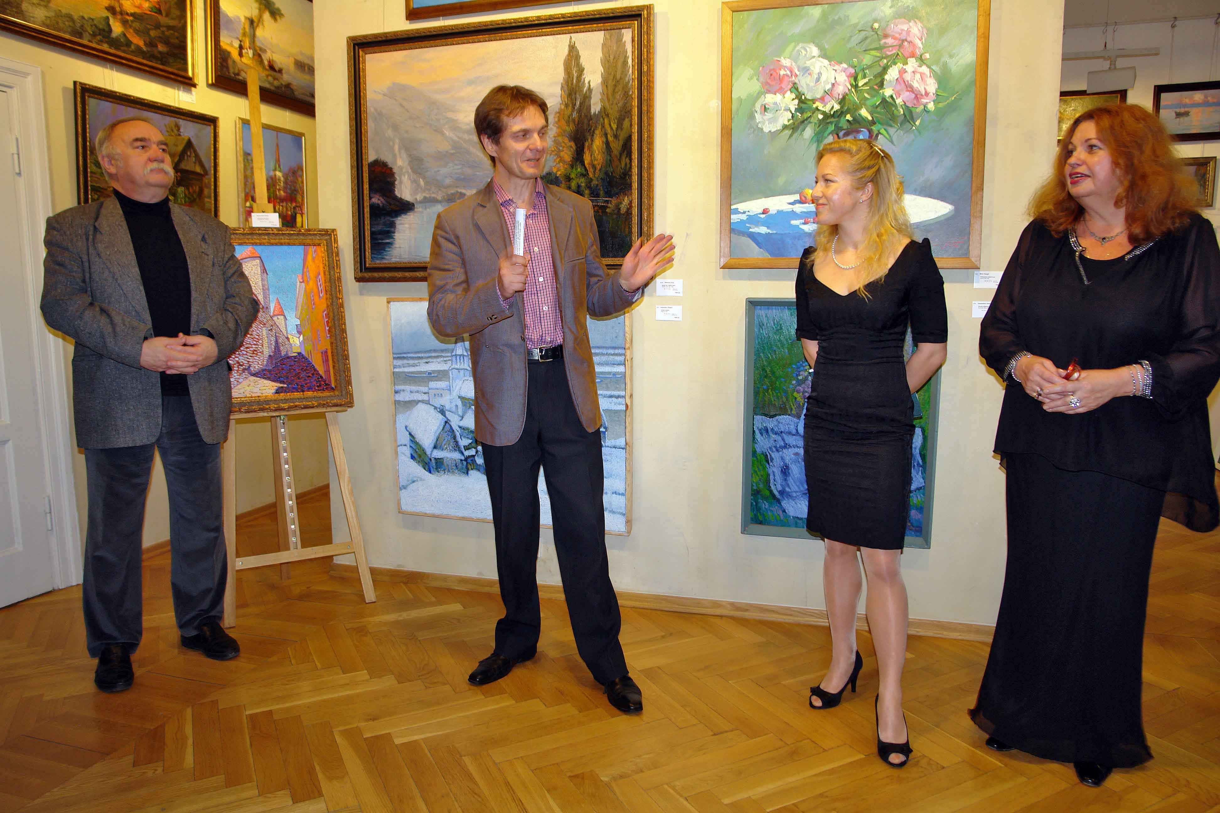 В центре Таллина открылась новая художественная галерея