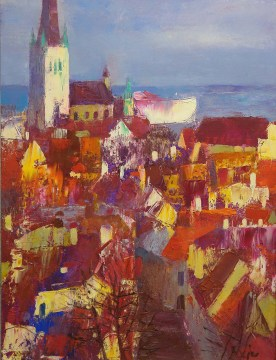 Baciu Vladimir, Rooftops of the Old Tallinn, 2012 year