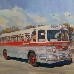 Автобус ЗИС-127 Таллин-Ленинград